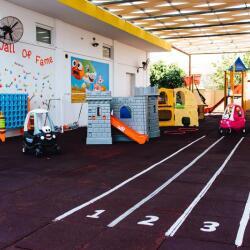 Giraffe Private Nursery School Playground